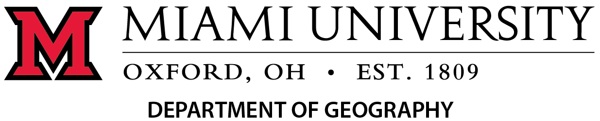 Miami University - Department of Geography